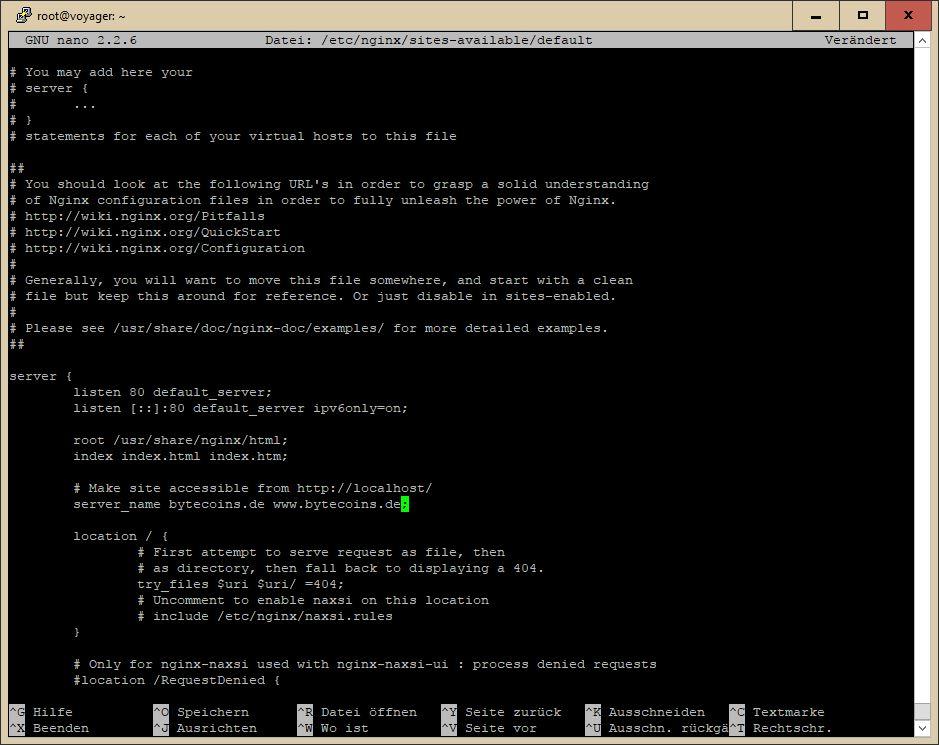 So sichern Sie Nginx mit Let\'s Encrypt unter Ubuntu / Debian ab ...